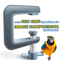 SEO CMS mod for Image Compressor & Watermark  1.1.1 & 1.2.1